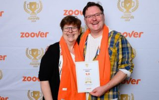 Dalauro bed & breakfast wint gouden Zoover Award 2019